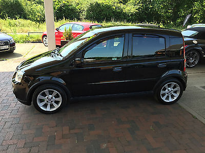 Fiat Panda 1.4 16v 100HP 5 door Hatchback Met Black