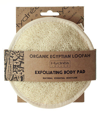 Organic Loofah - Exfoliating Skin Care Body Pad to Massage, Exfoliate and Detox