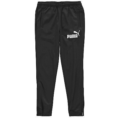 Puma Kids Tapered Tracksuit Bottoms Junior Boys Jogging Sweat Pants Joggers