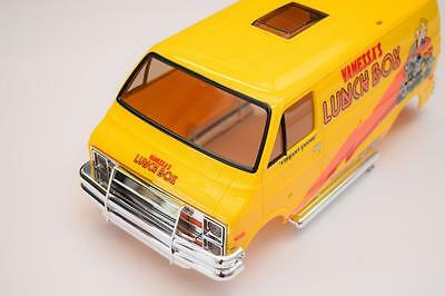 Tamiya LunchBox Body Shell Factory Painted And Cut Yellow