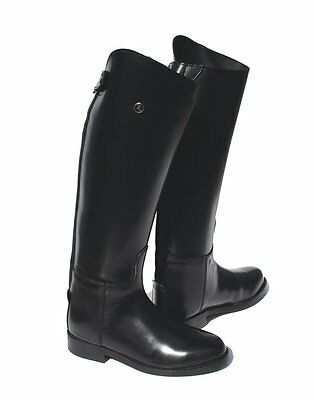 Rhinegold Olympic Long Riding Boots Black In Colour