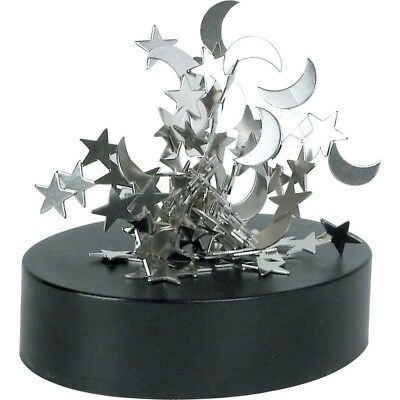 Moon And Stars Magnetic Desktop Sculpture Office Toy Novelty Gift Tabletop Art