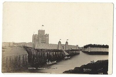 BRISTOL CASTLE RP Postcard by Fred Little, Unused