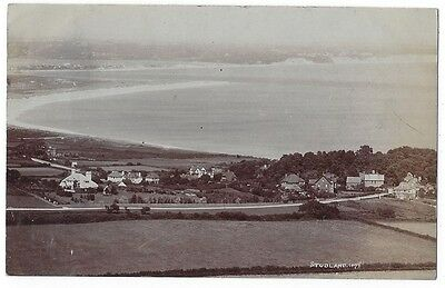 STUDLAND General View, RP Postcard by Pouncy, Postally Used c1908
