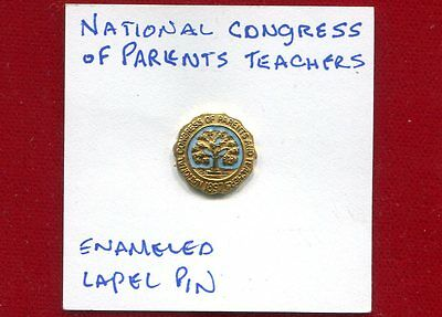 National Congress Of Parents Teachers Enameled Lapel Pin