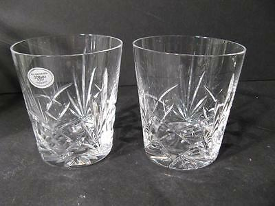 Gorham Cherrywood Set Of Two Double Old Fashioned Glasses