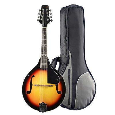 Rocket Traditional Bluegrass Mandolin with Padded Gig Bag