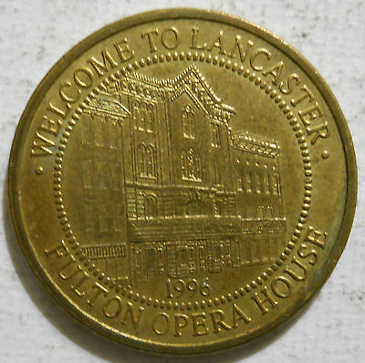 Lancaster, Pennsylvania parking token - PA3525I