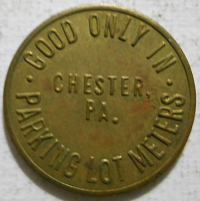 Business Men's Association (Chester, Pennsylvania) parking token - PA3190A