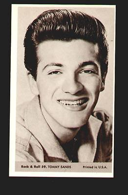 Tommy Sands MINT photo #59 from the 1959 Rock & Roll Series marketed by NU