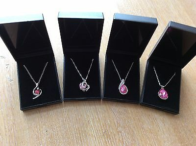 Job Lot Of 4  NEW Items Of Fashion Jewellery Gift Boxed Necklaces New 270617-09