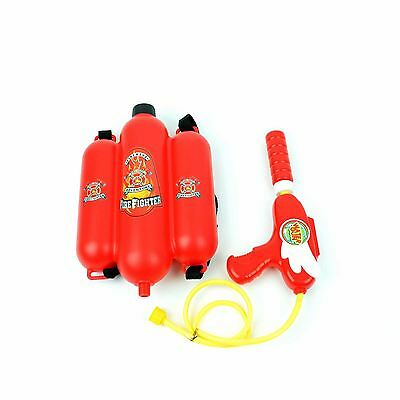Fireman Water Gun with Backpack Tank Pump Action Summer Outdoor fun Game Toy UK
