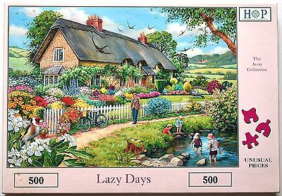 House of Puzzles 'Lazy Days' 500 Piece Avon Jigsaw Puzzle