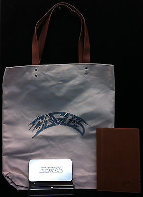 EAGLES 2015 History Tour VIP Notebook, Pens & Tote Bag