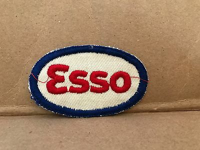 """Vintage 1950/60's Embroidered Esso Jacket Patch 3"""" X 2"""""""