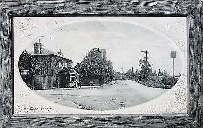 Local Pub Bath Road Langley Buckinghamshire 1911 Pc
