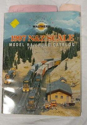 Walthers 1997 N&Z Scale Model Railroad Catalog