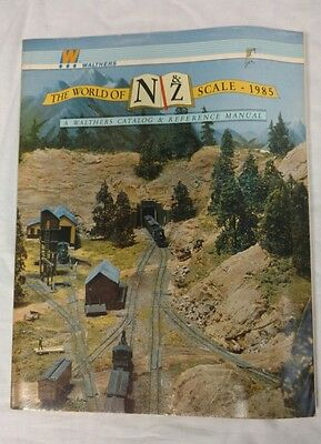 Walthers N&Z scale 1985 Catalog & Reference