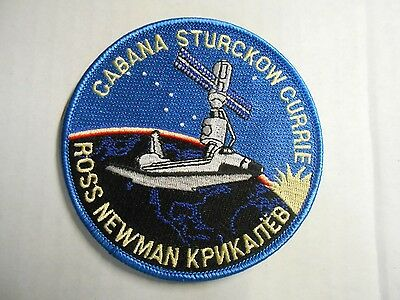 "NASA Mission STS-88 Embroidered Arm Patch Space Shuttle Endeavour - Unity 4"" NEW"