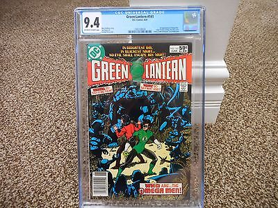 Green Lantern 141 cgc 9.4 1st appearance of Omega Men DC 1981 movie Lobo NM MINT