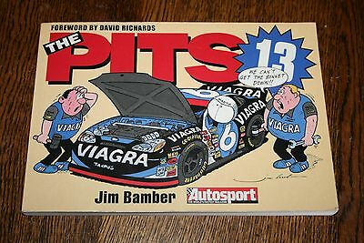 The Pits 23 2005 Jim Bamber F1 Rally Motor Sport Cartoons Annual Autosport