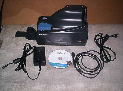 Panini Vision X  SD Check Scanner w/ PS Cable CD 50 DPM Single Feeder Inkjet