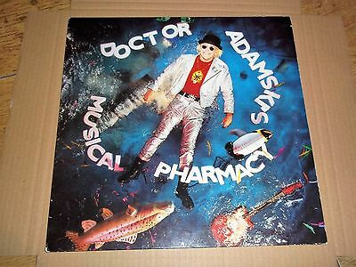 adamski ' musical pharmacy ' 1989 vinyl cw 'killer' seal.rave.acid  VG+/EX+