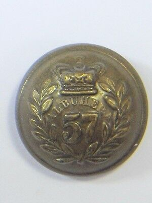 57th (West Middlesex) Foot original Victorian o/r's Large Button.
