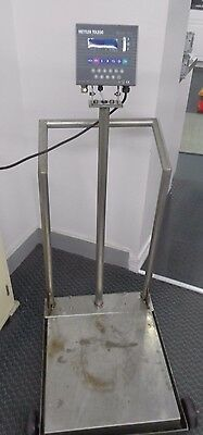 Mettler Toledo Panther Pthk1000000 300Lb/150Kg Floor Scale Wb150000 Load Cell