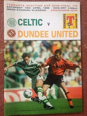 Celtic v Dundee United 1999 Scottish Cup semi final