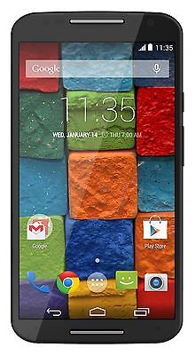 Motorola Moto X (2nd generation) AT&T Unlocked Cellphone, 16GB, Black Soft Touch
