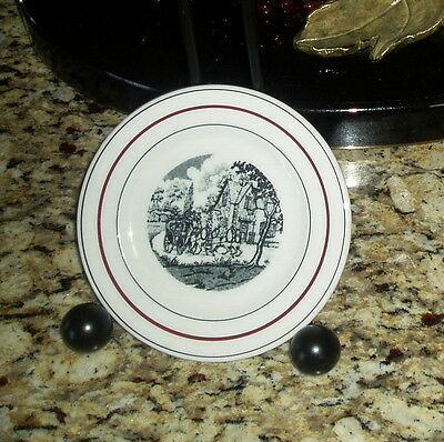 Vintage Shenango Restaurant Ware Diner B&B Plate GREENE WINKLER CO. Seattle Wash