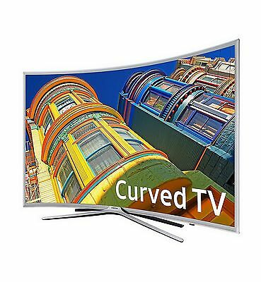 "Samsung HDTV 55"" Curved HD LED TV 1080p Television"