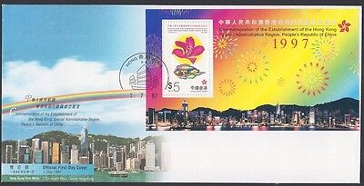 HONG KONG 1997-98. First Day Special - Comm, (10)
