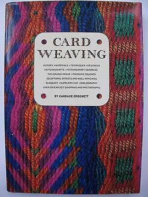 CARD WEAVING by CANDACE CROCKETT - TABLET WEAVING TITLE