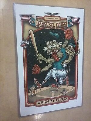 POSTER by PEARL JAM 7-19-13 chicago wrigley field for the bands show promo GIG