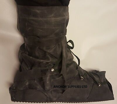2 PAIRS British Army NBC Boots Overboots Overboot MK1 Festivals Gardening