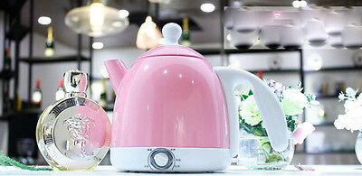 Pink Mini Stainless Steel Capacity 0.8L Home Kitchen Electric Kettle