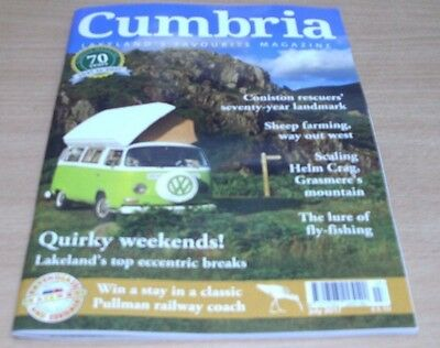 Cumbria Monthly magazine Jul 2017 Quirky weekend breaks + Coniston Rescuers