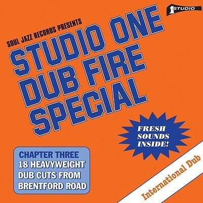 Soul Jazz Studio One Dub Fire Special New Sealed Vinyl 2Lp In Stock