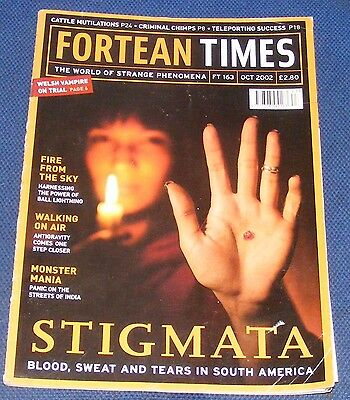 Fortean Times Ft163 October 2002 - Stigmata