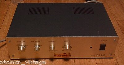 Sun Audio SVC-200 stereo tube pre-amplifier maker built version * VG++