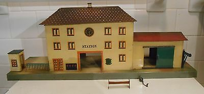 Vintage Pre-War Marklin 2048 1 O Gauge Station Bahnhof 2048 Great For LGB