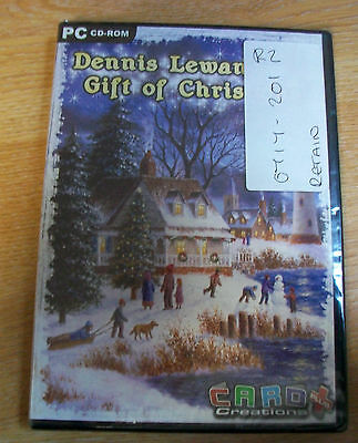 Card Creations Dennis Lewans Gift of Christmas CD ROM NEW & SEALED BOX8402 K