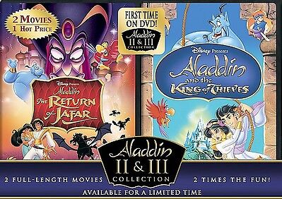 The Return of Jafar/Aladdin and the King of Thieves Aladdin 2 & 3 Collection