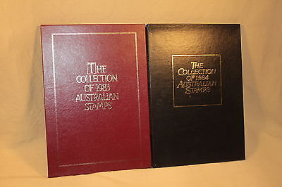 1983 & 1984 Australia Year Stamp Collections In Albums Mnh 5872