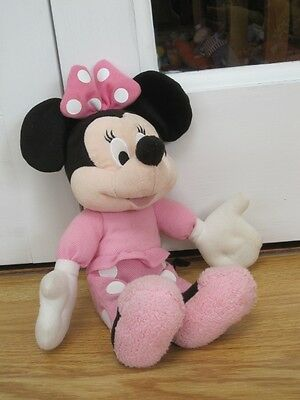 """Disney Minnie Mouse 12"""" Pyjama Party Talking Laughing Plush Soft Toy"""