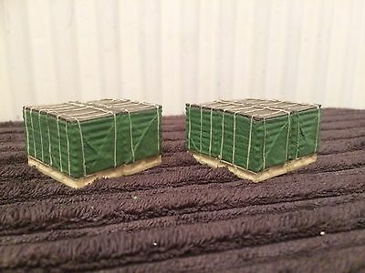Corgi Heavy Haulage Modern Truck Crate Load X2 Only 1/50 Scale