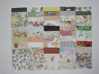 "100 new 4 "" x 4 "" mixed colours cotton patchwork squares"