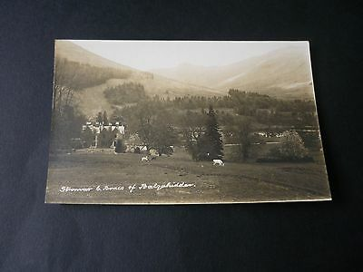 Stronvar, BALQUHIDDER, Stirlingshire, Vintage Real Photographic Postcard